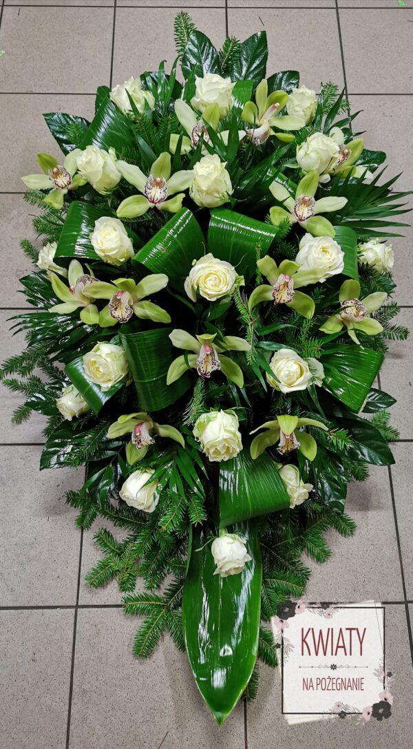 Wiązanka pogrzebowa duża