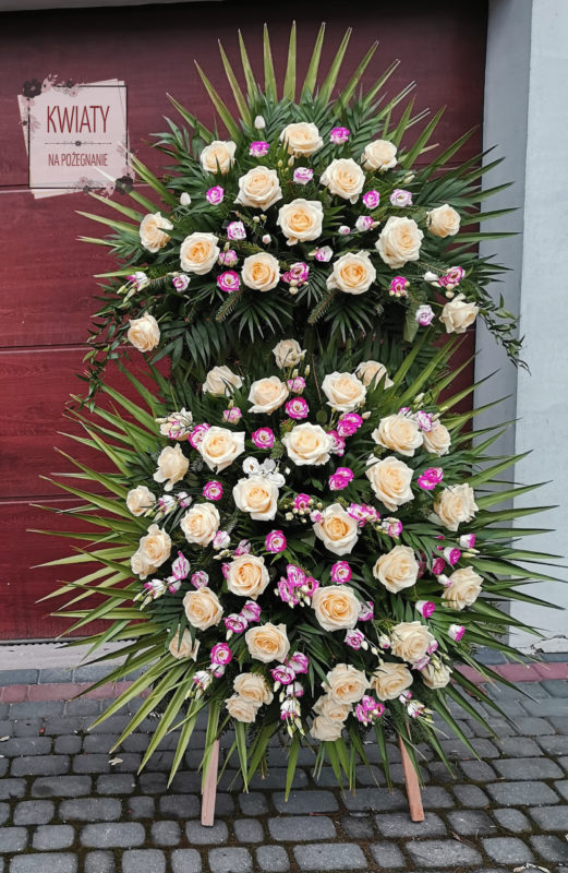 Wieniec pogrzebowy duży