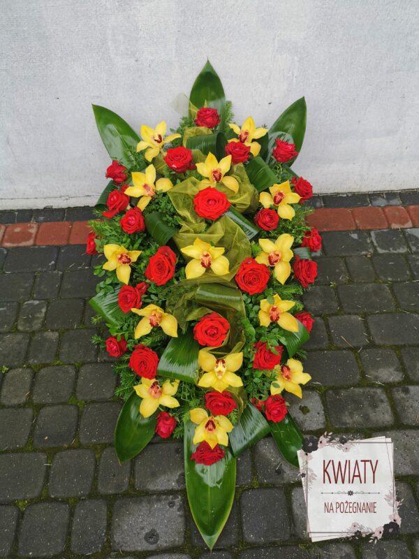 Wiązanka pogrzebowa - naturalne kwiaty